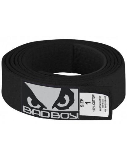 Bad Boy BJJ Belt Black