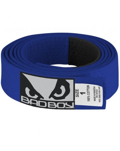 Bad Boy BJJ Belt Blue