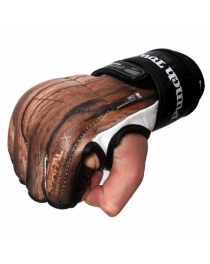 PunchTown KARPAL eX TAT2 mk II Carved Brown MMA Gloves