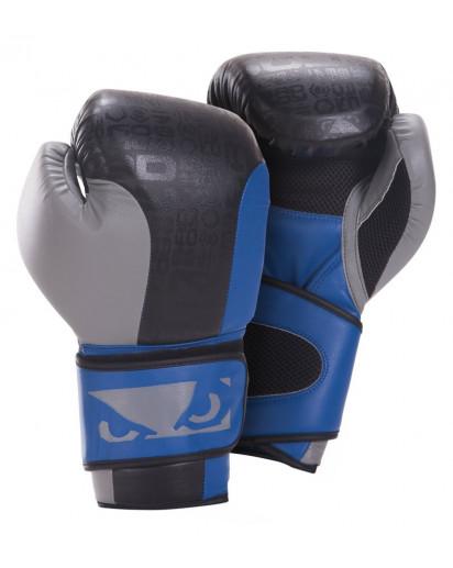 Bad Boy Legacy Boxing Gloves Nyrkkeilyhanskat Musta/Sininen/Harmaa