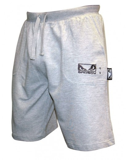 Bad Boy Cotton Shorts Grey Old Model