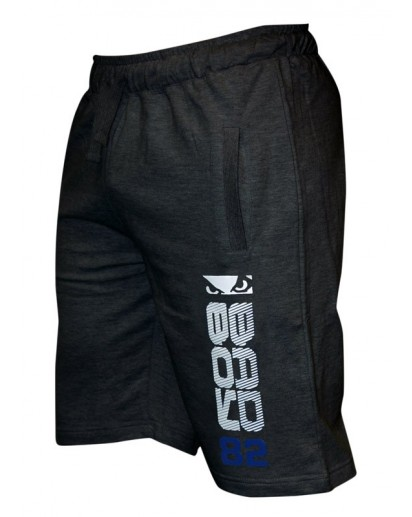 Bad Boy Cotton Shorts Dark Grey New Model