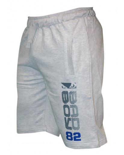 Bad Boy Cotton Shorts Grey New Model