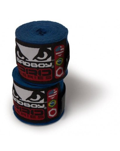 Bad Boy Hand Wraps Stretch 2,5 m Blue (pair)