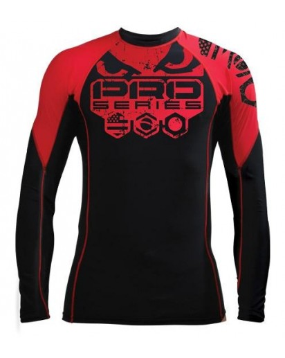 Bad Boy Kimura Rash Guard Long Sleeve Red