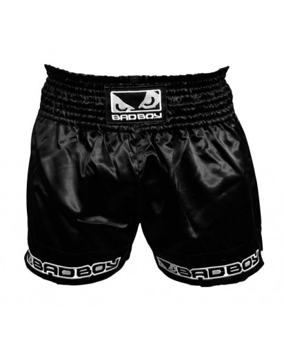 Bad Boy Muay Thai Shorts Black
