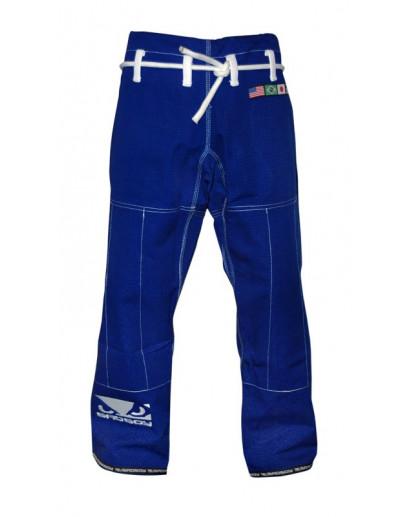 Bad Boy BJJ Gi Pants Blue (Rip-Stop)