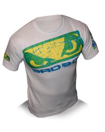 Bad Boy UFC 113 Shogun Walk in T-shirt White