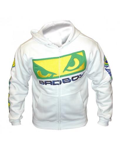 Bad Boy Shogun UFC 113 Hoodie White