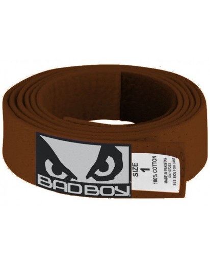 Bad Boy BJJ Belt Brown