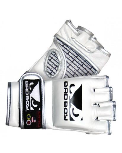 Bad Boy Pro Series MMA Gloves White
