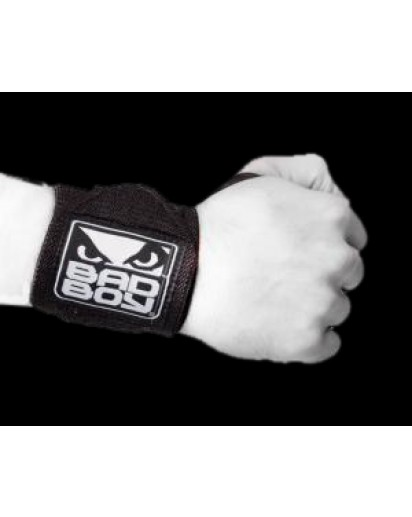 Bad Boy Wrist Supports With Thumb Grip (pair)