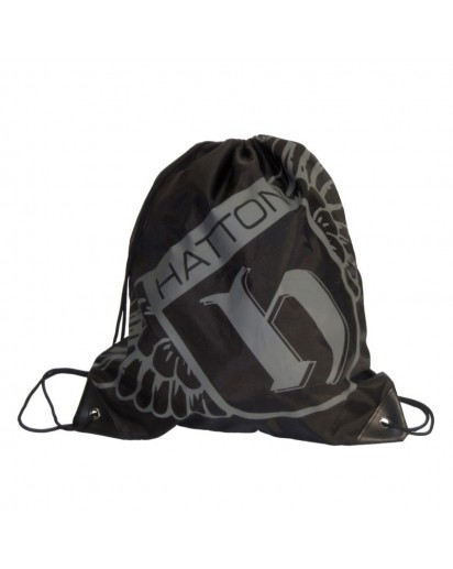 Hatton Gym Sack Black/Silver