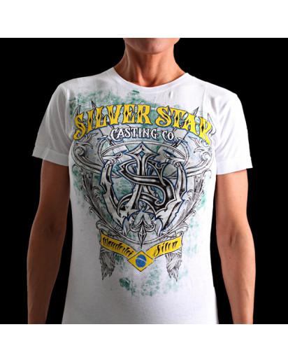 Silver Star Womens Jrs Wanderlei Axed 2 White t-shirt