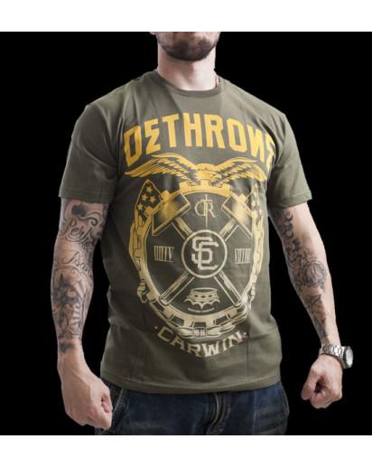 Dethrone Royalty Carwin T-shirt Army Green
