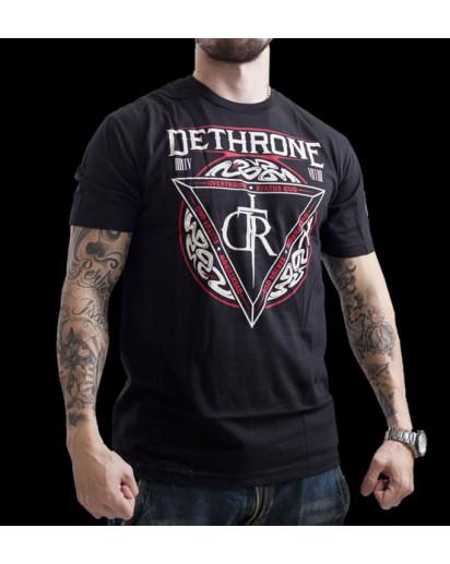 Dethrone Royalty Serpents T-shirt Black
