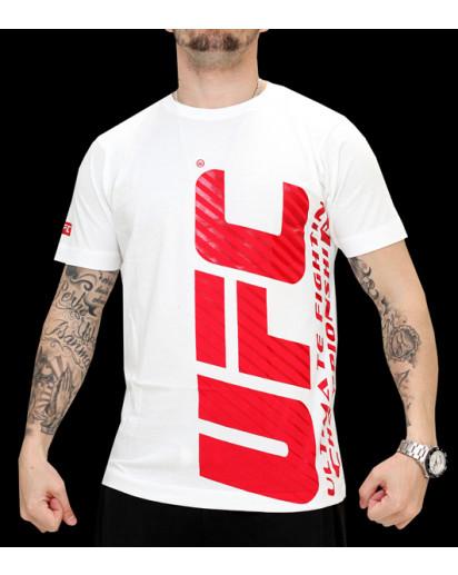 UFC Ultimate II White/Red t-paita