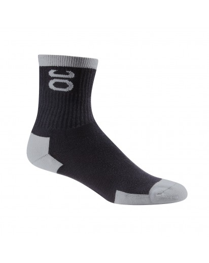 Jaco Bamboo Training Sock Crew Cut Black/Silverlake