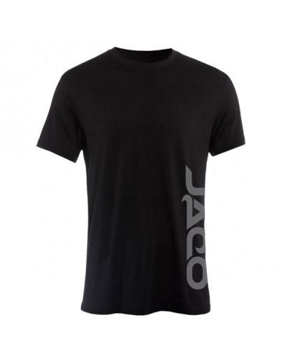 Jaco Logo Crew T-shirt Black