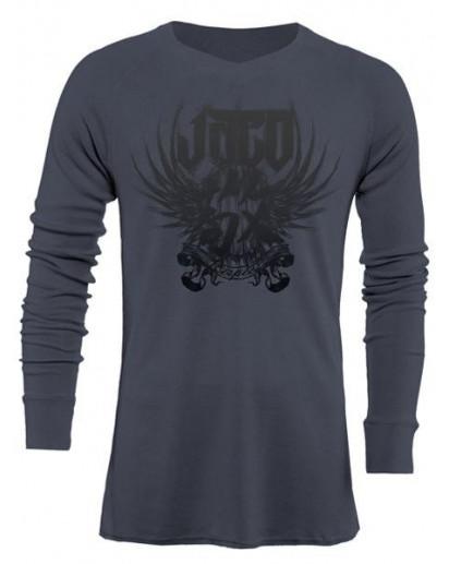 Jaco Venerable V-Neck Thermal Nubious Grey