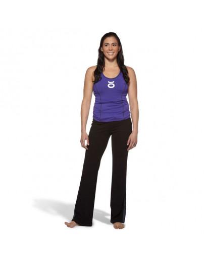 Jaco Womens Training Pant Flare Leg Black