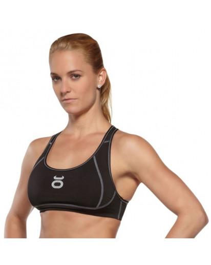 Jaco Womens Sports Bra Black