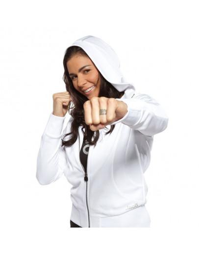 Jaco Womens Training Jacket White
