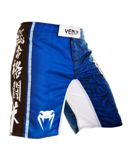 Venum Lyoto Machida Torii Legacy Fightshorts Blue