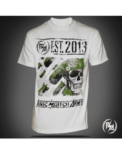 Panic Switch Napalm T-shirt White