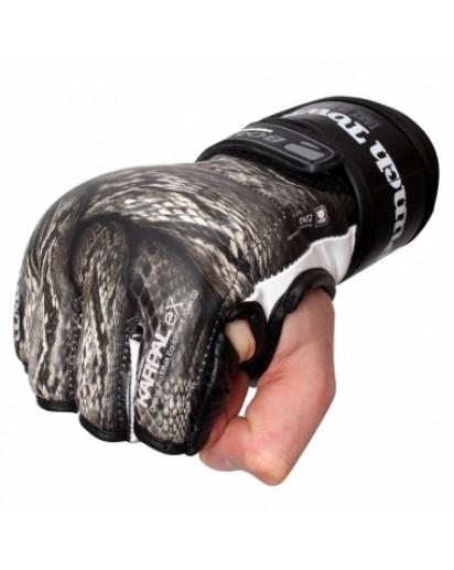 PunchTown KARPAL eX TAT2 mk II Crush Black MMA Gloves
