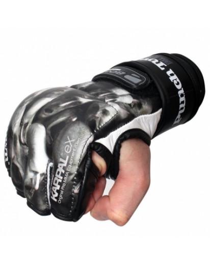 PunchTown KARPAL eX TAT2 mk II Souls Black MMA Gloves