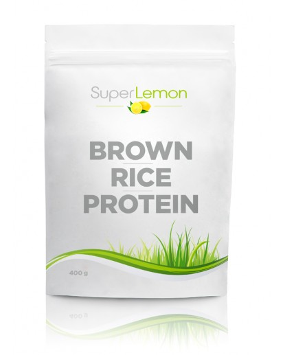 SuperLemon Brown Rice Protein Natural 400 g