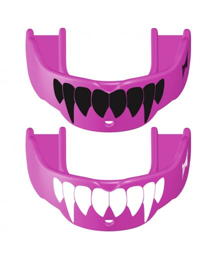 TapouT Adult Fang Mouthguards Pink