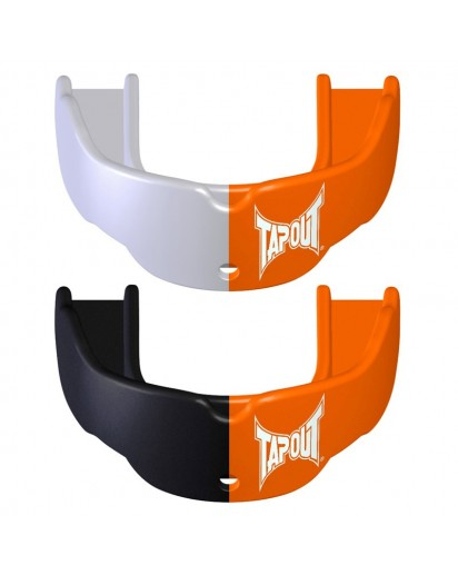 TapouT Adult Mouthguards Orange/White