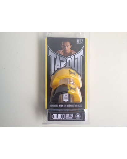 TapouT Adult Mouthguards Yellow/Black