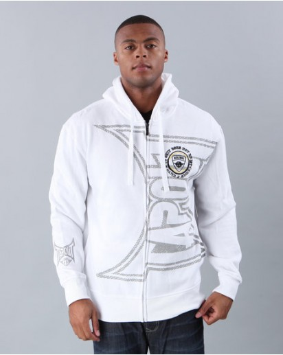 TapouT Invert Fleece Hoodie White