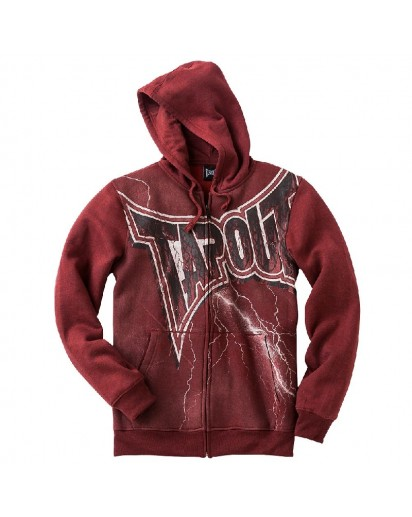 TapouT Make News Hoodie Red