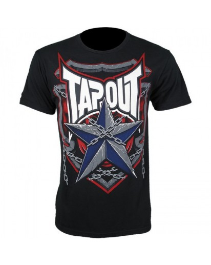 TapouT Pat Barry Shield Of Honor Black t-shirt