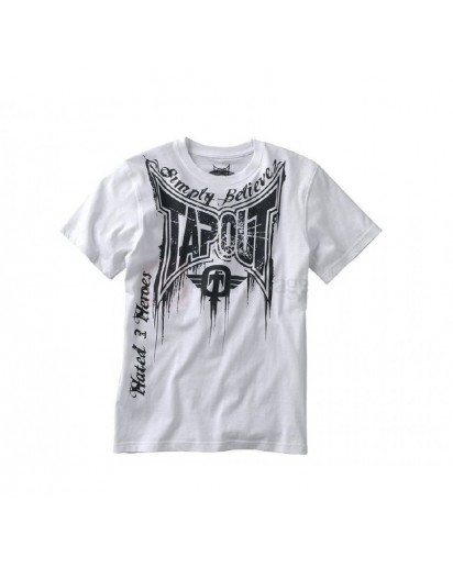 TapouT Train Or Die White t-shirt