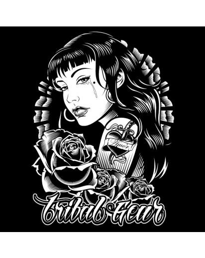 Tribal Amor T-shirt Black