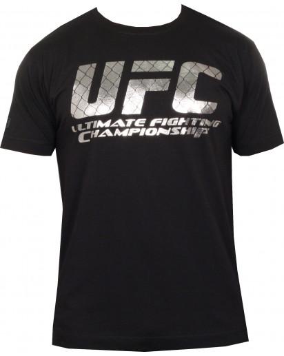 UFC Foil Logo Black t-paita