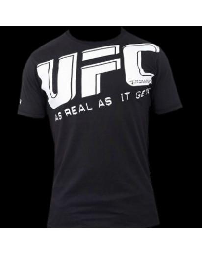 UFC Slant Tee Black t-paita