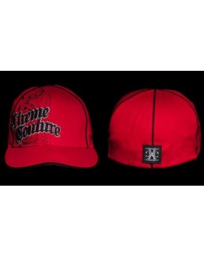 Xtreme Couture Paisley Hat Red