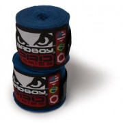 Bad Boy Hand Wraps Stretch 3,5 m Blue (pair)