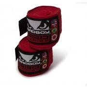 Bad Boy Hand Wraps Stretch 3,5 m red (pair)