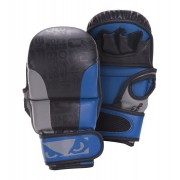 Bad Boy Legacy Safety MMA Gloves Black/Blue/Grey