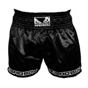 Bad Boy Muay Thai Shorts Black