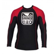 Bad Boy Pro Series Rash Guard Long Sleeve Black/Red