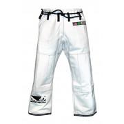 Bad Boy BJJ Gi Pants White (Rip-Stop)