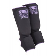 Bad Girl Shin Guards Purple